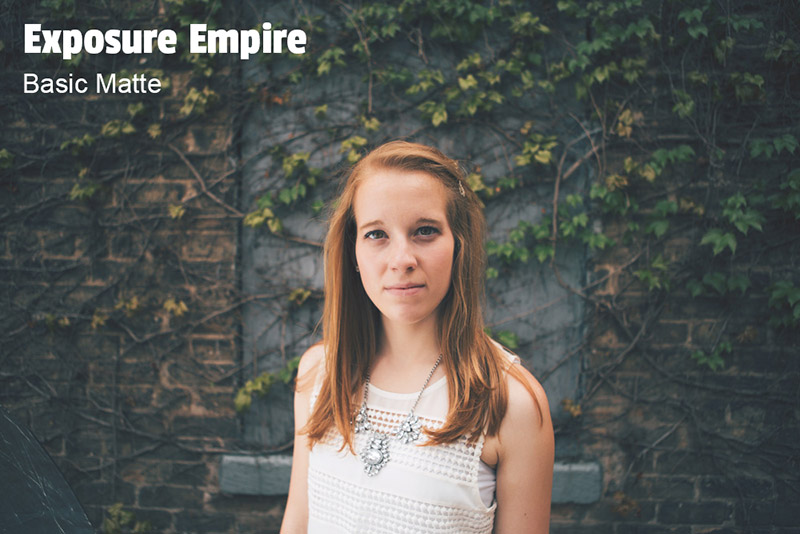Free Matte Lightroom Preset and Photoshop Action - Exposure Empire
