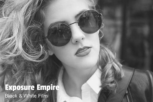 Free Black & White Film Lightroom Preset and Photoshop Action