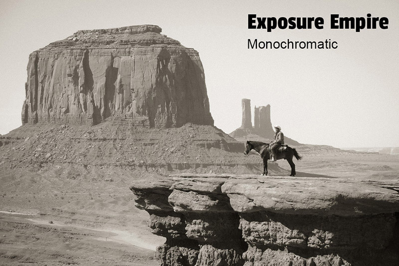 Free Monochromatic Lightroom Preset and Photoshop Action