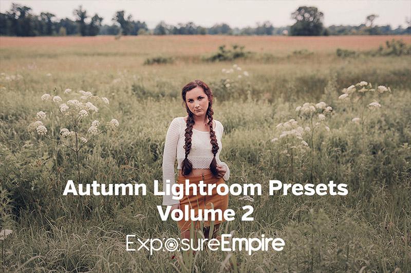 Autumn Lightroom Presets - Vol. 2