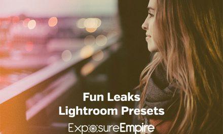 Fun Light Leaks Lightroom Presets