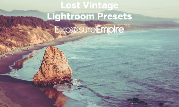 Lost Vintage Lightroom Presets