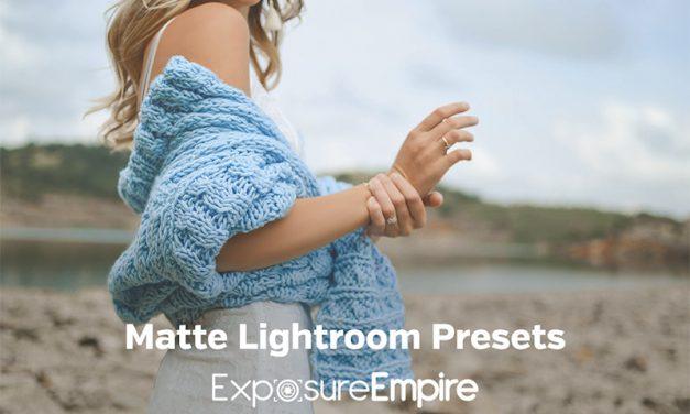 Matte & Film Lightroom Presets