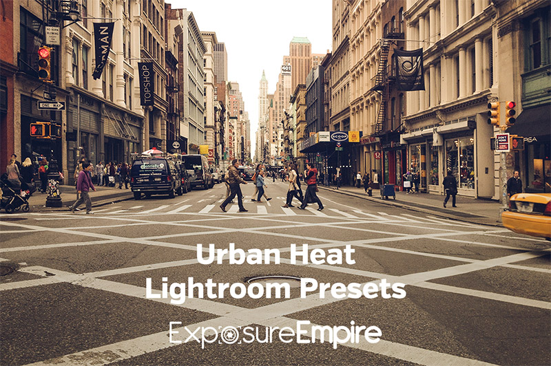 Urban Heat Lightroom Presets